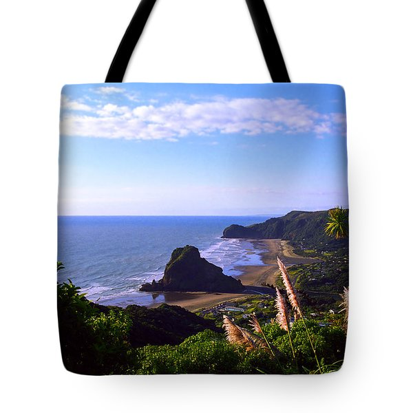 Piha Panorama Tote Bag by Kevin Smith