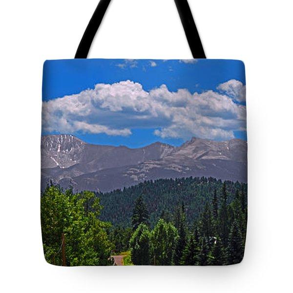 Pike's Panoramic Tote Bag