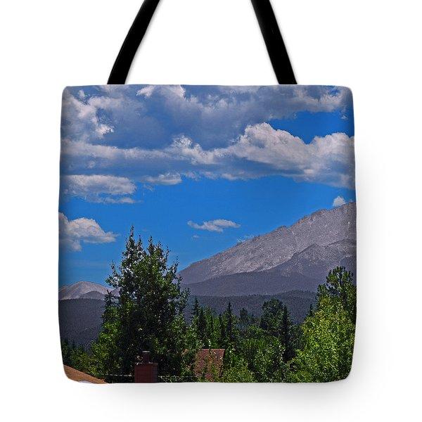 Pike's Panoramic Segment Left Tote Bag