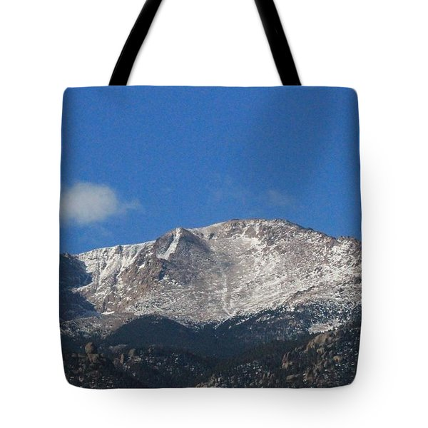 Pikes Peak Tote Bag by Christopher Kirby