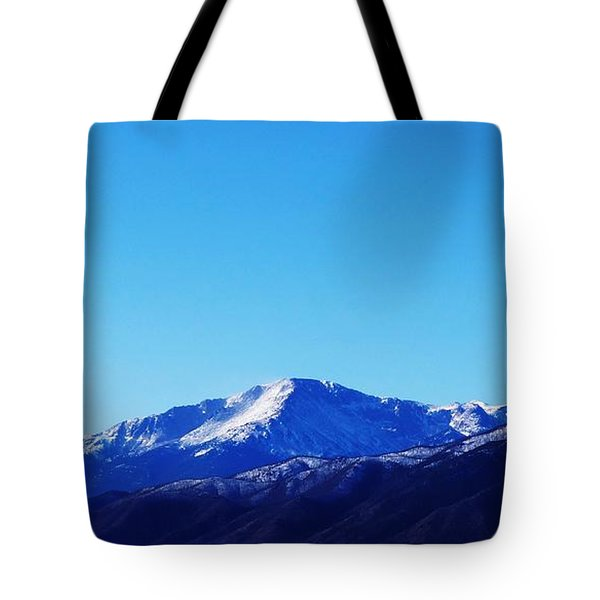 Tote Bag featuring the photograph Pikes Peak by Joseph Frank Baraba