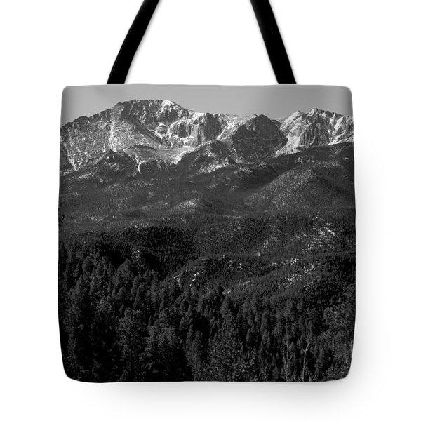 Pikes Peak Spring Tote Bag
