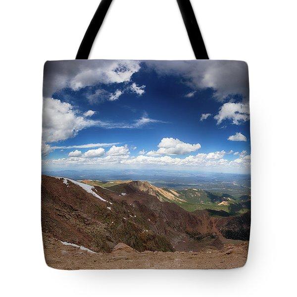 Pikes Peak Storm Tote Bag