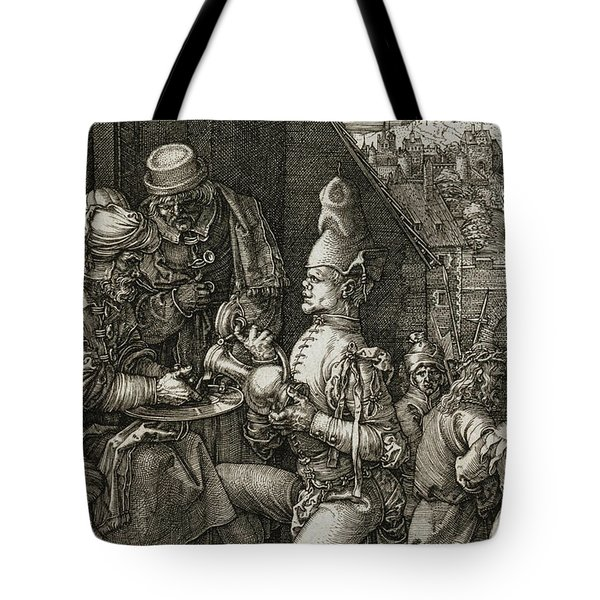 Pilate Washing His Hands Tote Bag