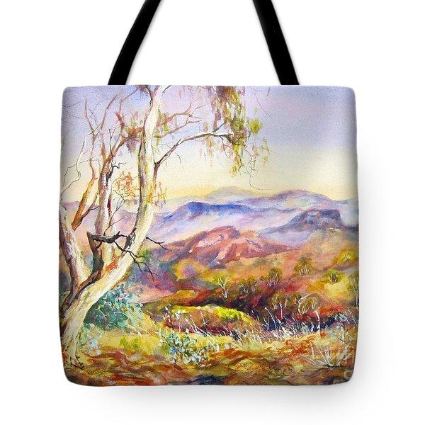Pilbara, Hamersley Range, Western Australia. Tote Bag