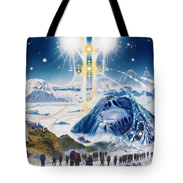 Pilgrimage Of The Lunatics Tote Bag