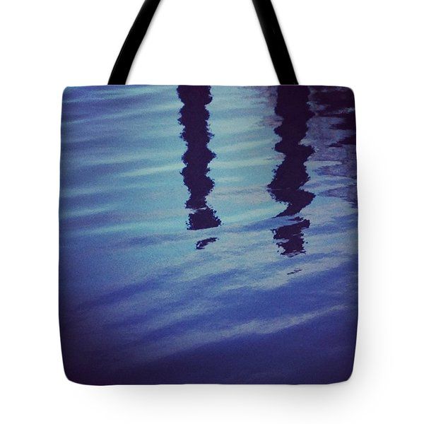 Piling Reflection Tote Bag