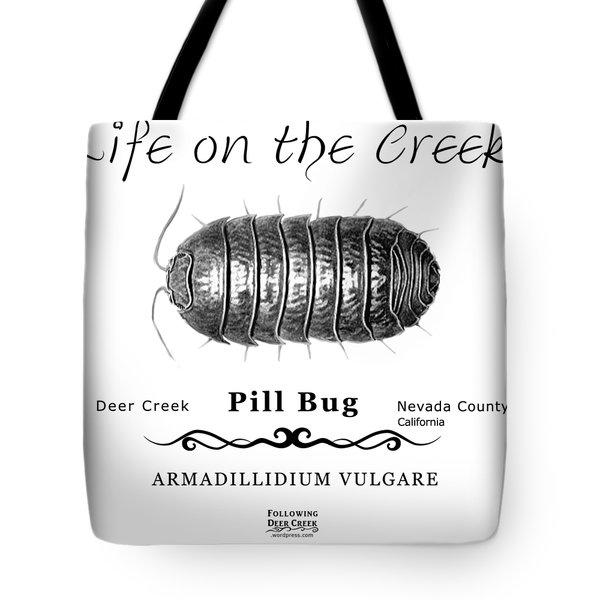Pill Bug Armadillidium Vulgare Tote Bag