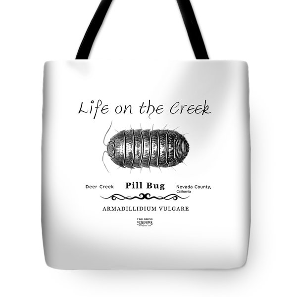 Pill Bug Armadillidium Vulgare Tote Bag