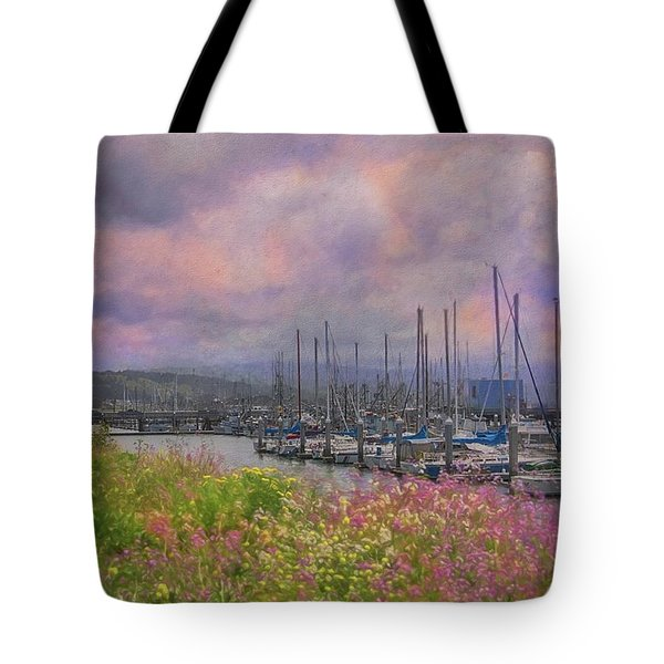 Pillar Point Harbor Tote Bag