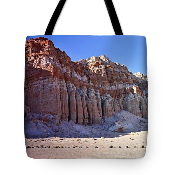 Pillars, Red Rock Canyon State Park Tote Bag by Michael Courtney