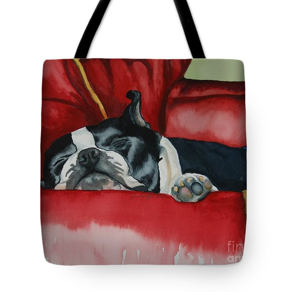 Pillow Pup Tote Bag