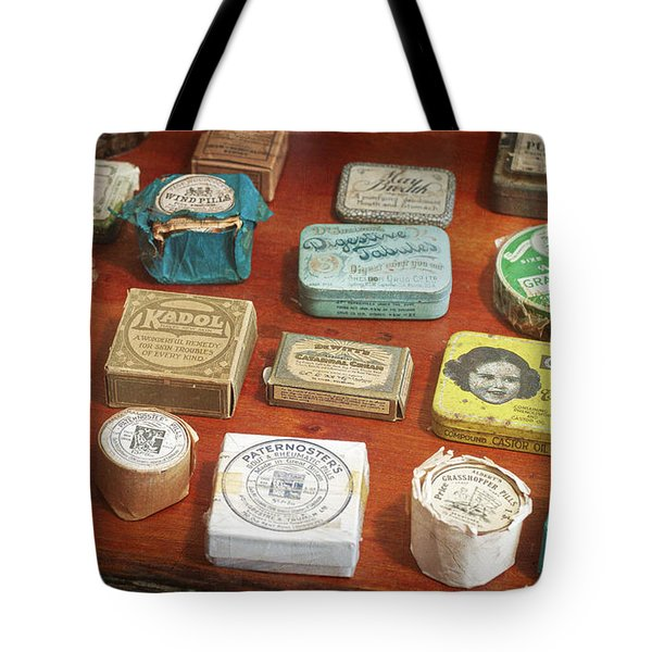 Pills, Powders And Ointments Tote Bag