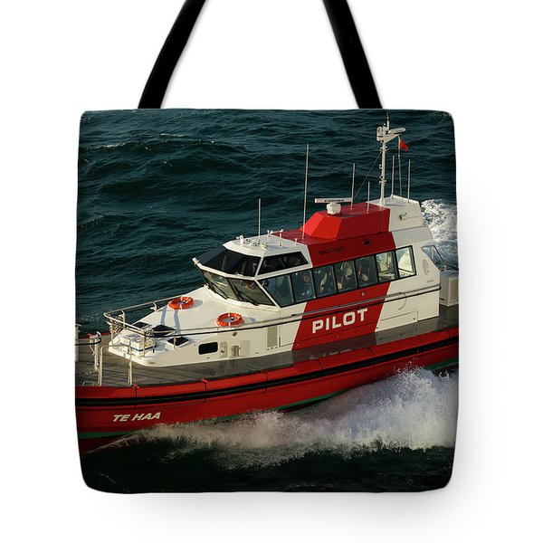 Pilot Boat Wellington Tote Bag
