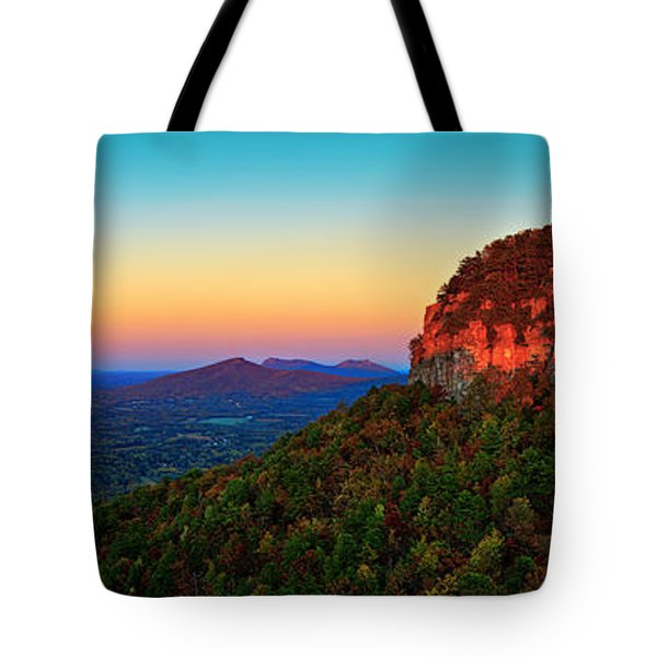 Pilot Mountain  Tote Bag