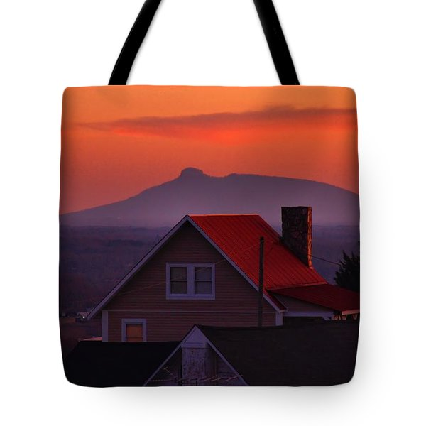 Pilot Sunset Overlook Tote Bag