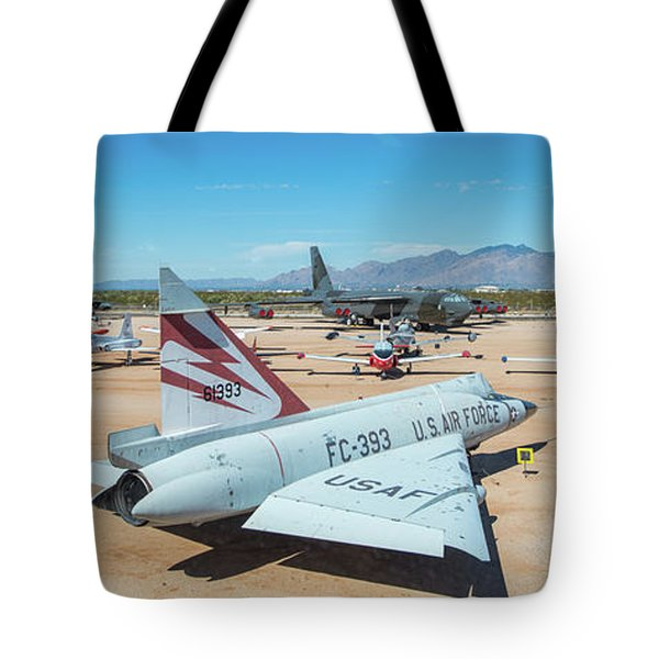 Tote Bag featuring the photograph Pima Air And Space Museum by Dan McManus