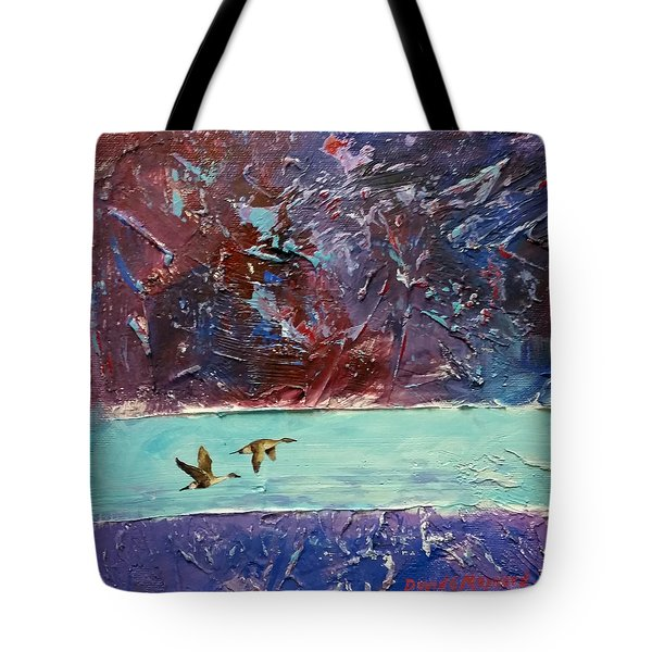 Pin Tails Tote Bag
