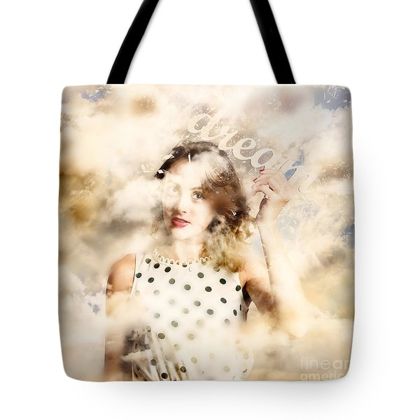 Tote Bag featuring the photograph Pin-up Your Dreams by Jorgo Photography - Wall Art Gallery
