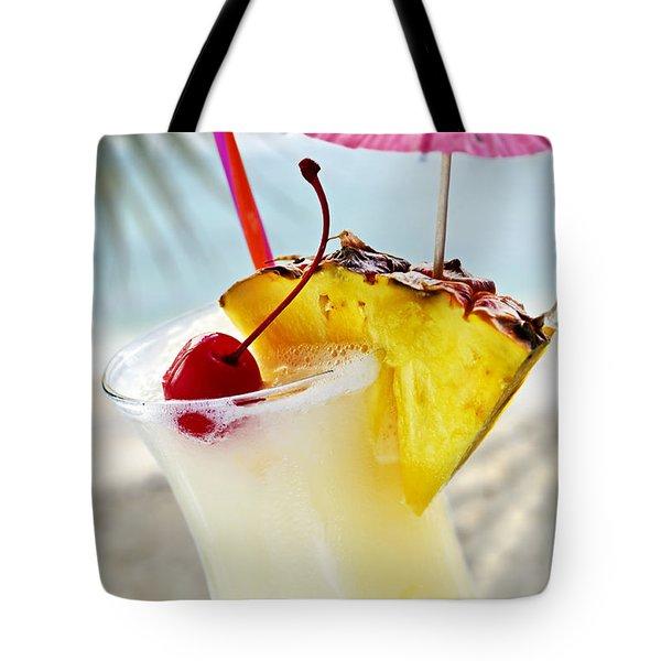 Pina Colada Tote Bag by Elena Elisseeva