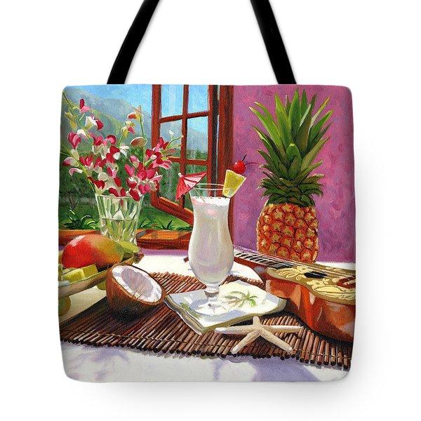 Pina Colada Tote Bag by Steve Simon