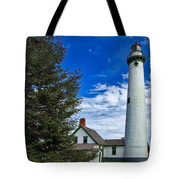 Pine At New Presque Isle Light Tote Bag