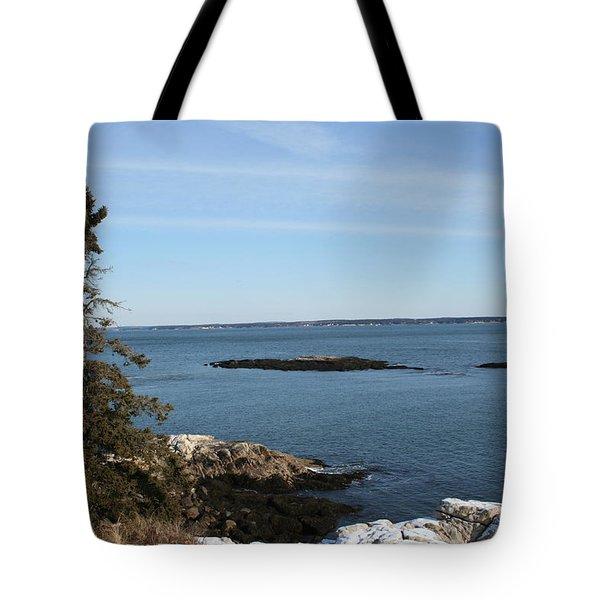 Pine Coast Tote Bag
