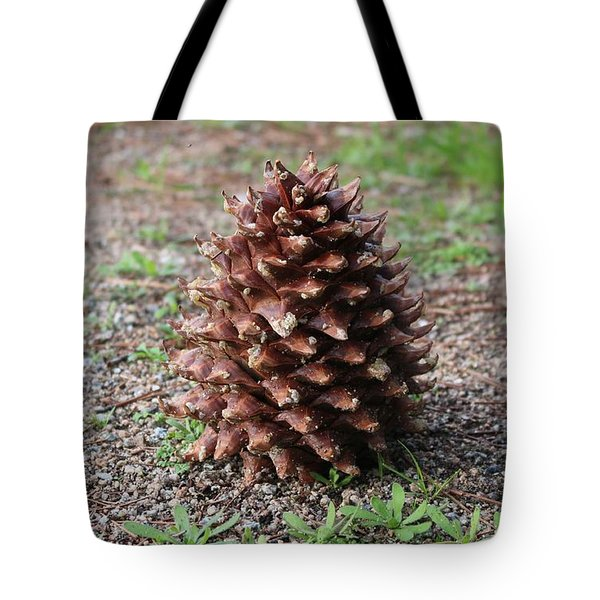 Pine Cone  Tote Bag by Christy Pooschke