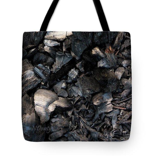 Pine Cone Cinders Tote Bag