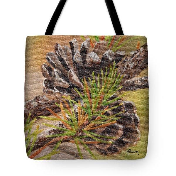 Pine Cones Tote Bag