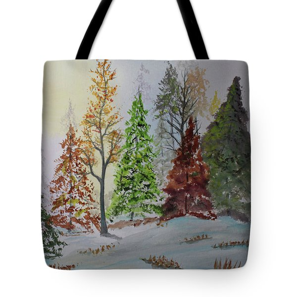 Pine Cove Tote Bag by Jack G Brauer