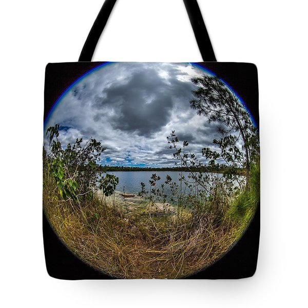 Pine Glades Lake 18 Tote Bag
