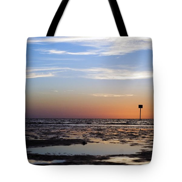 Pine Island Sunset Tote Bag
