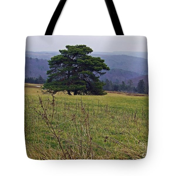 Pine On Sentry Tote Bag by Christian Mattison