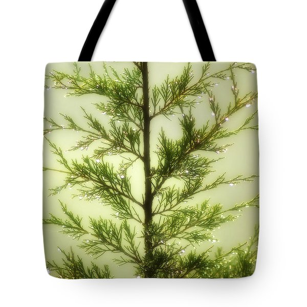 Tote Bag featuring the photograph Pine Shower by Brian Wallace