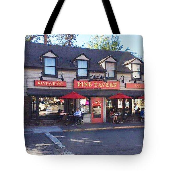 Pine Tavern Tote Bag