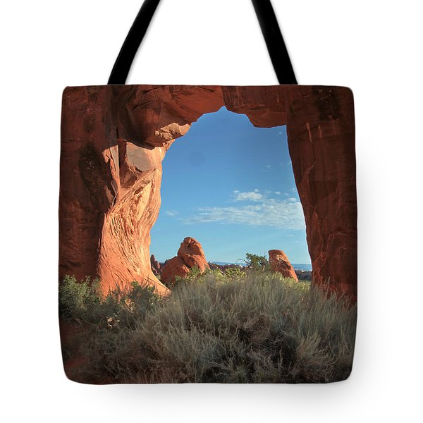Pine Tree Arch Tote Bag