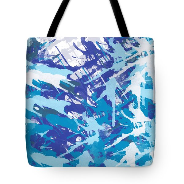 Pine Trees Tote Bag by Trilby Cole