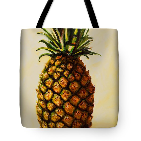 Pineapple Angel Tote Bag