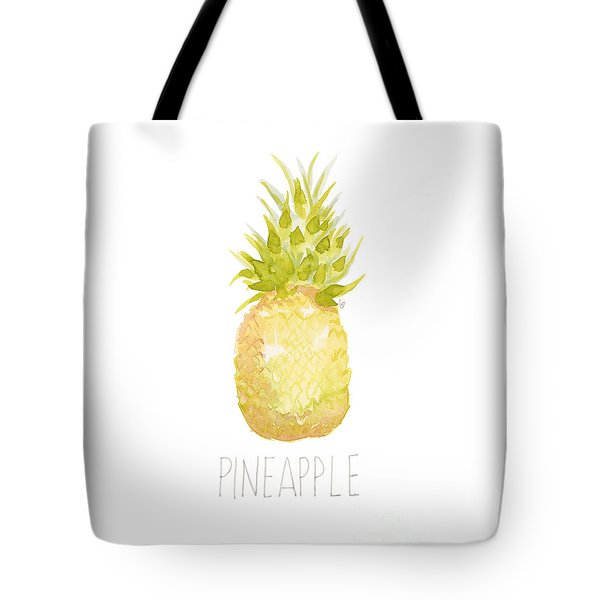 Pineapple Tote Bag by Cindy Garber Iverson