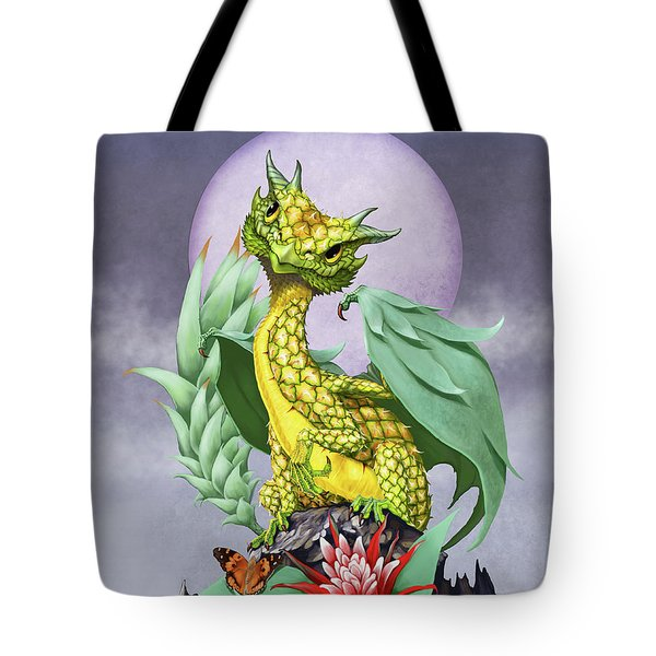 Pineapple Dragon Tote Bag