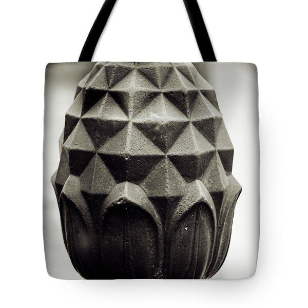 Pineapple, Oak Alley, Vacherie, Louisiana Tote Bag