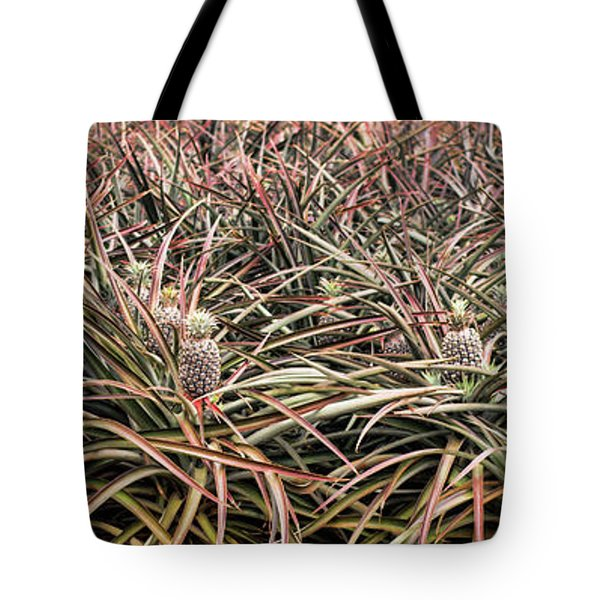 Pineapple Pano Tote Bag by Heather Applegate