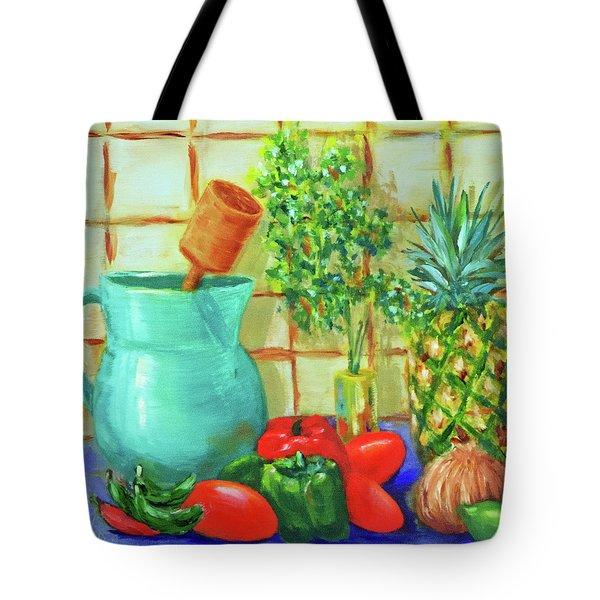 Pineapple Salsa Tote Bag