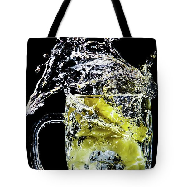 Pineapple Splash Tote Bag