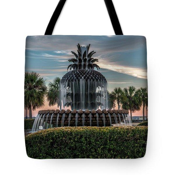 Pineapple Suprise Tote Bag