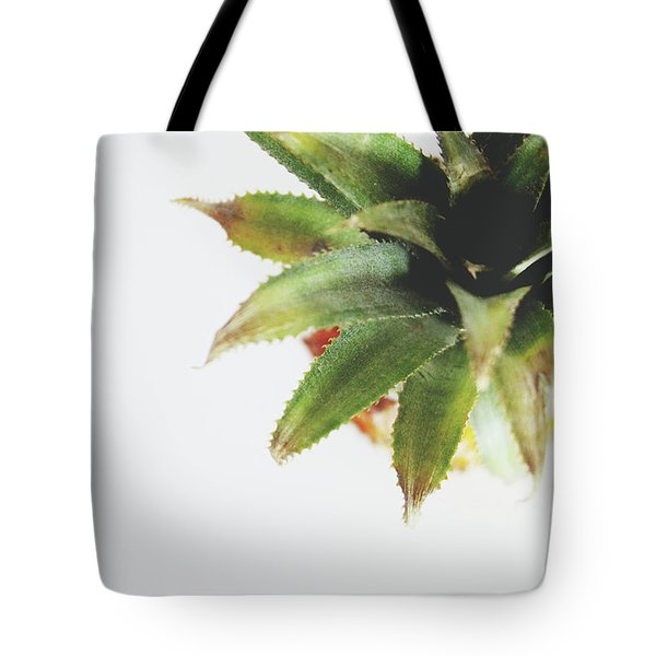 Pineapple Top 2- Art By Linda Woods Tote Bag