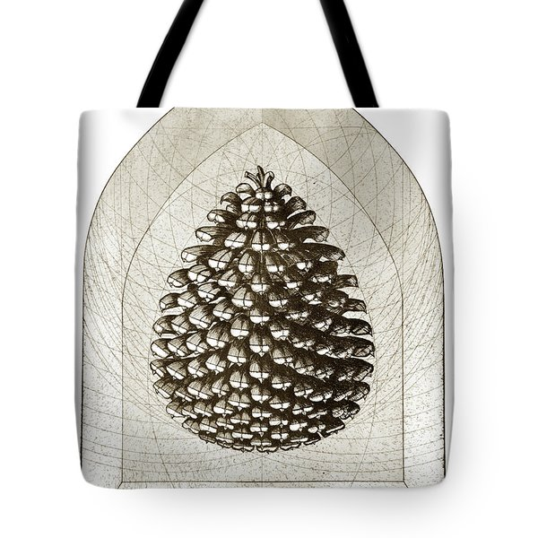 Pinecone Tote Bag by Charles Harden