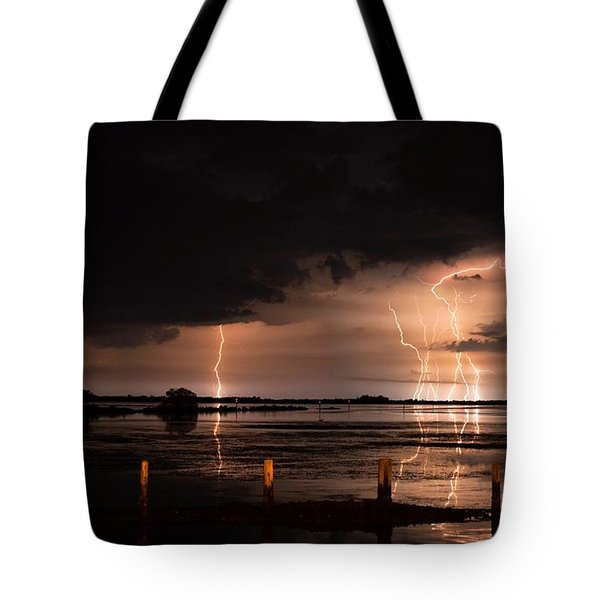 Pineland Nights Tote Bag