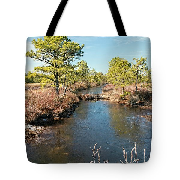 Pinelands Water Way Tote Bag
